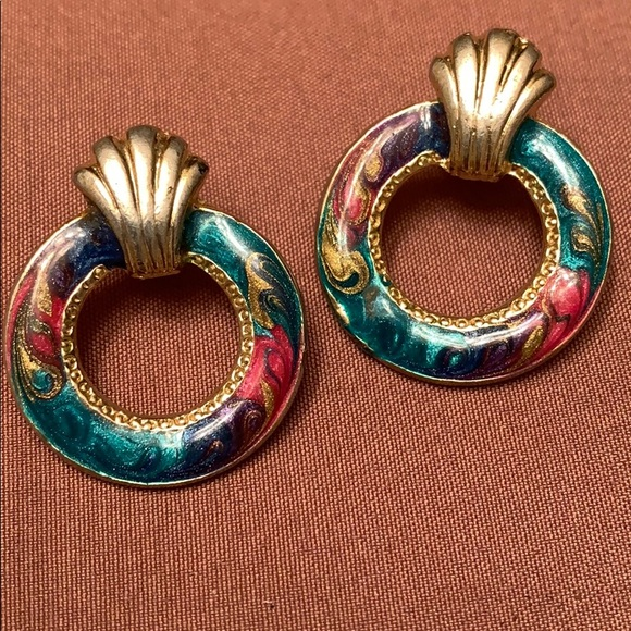 Vintage Jewelry - 🔥New Inventory🔥 Colorful Vintage Earrings
